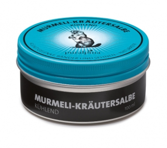Puralpina Murmeli Kraeutersalbe kuehlend 100ml Swiss Made 300